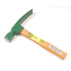 HAMMER BRICKLAYERS 800GM TIMBER HANDLE