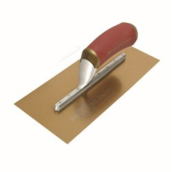TROWEL,FNSHNG PERMAFLT GLD S/S 330X127MM DURASOFT HANDLE MT13GSFPD