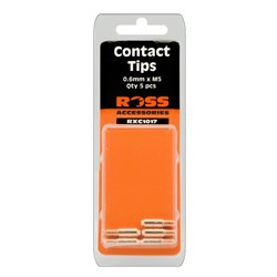 CONTACT TIPS 0.6MM (PACK OF 5) M5