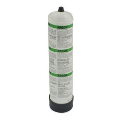 GAS CYLINDER-DISPOSABLE ARGON(BOX OF 12)
