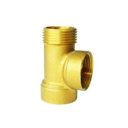 "DAB-3WT - PUMP THREE WAY TEE 1X1""X1"" BRONZE"