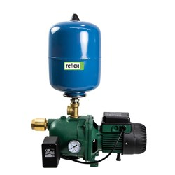DAB-62MP-8V - PUMP SURFACE MOUNTED JET WITH PRESSURE SWITCH 45L/MIN 42M 0.44KW 240V+ 8L PRESSURE TAN