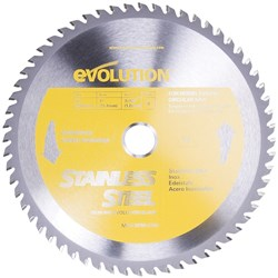SPARE BLADE 230MM STAINLESS STEEL 60 TEETH EVO-BLADE230-SS