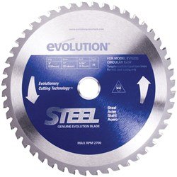 SPARE BLADE 230MM STEEL 48 TEETH EVO-BLADE230-ST
