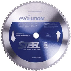 SPARE BLADE 355MM STEEL 66 TEETH EVO-BLADE355/66-ST