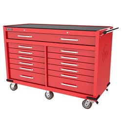 LONGREACH 13 DRAWER ROLL CABINET