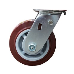 CASTOR SWIVEL 250KG WITH BRAKE TO SUIT WHI880 ROLL CABINET WHIBSC880