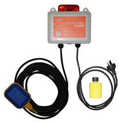 ZEN-ALARM-DELUXE - PUMP CONTROL HIGH LEVEL ALARM 240V WITH LED STROBE