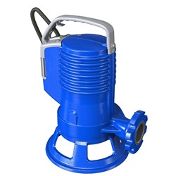 ZEN-GRBLUEP100/2/G40HTEX - PUMP SUBMERSIBLE IECEX WASTEWATER DOMESTIC 240L/M 17M 0.75KW 41