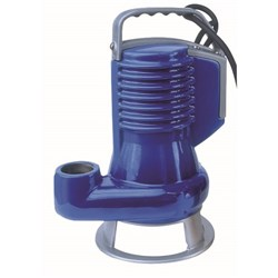 ZEN-DGBLUE75/2/G40VMGEX - PUMP SUBMERSIBLE IECEX DIRTY WATER DOMESTIC 420L/M 10M 0.55KW 24