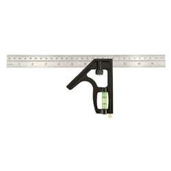 300MM PRO INCH/METRIC HEAVY DUTY COMBINATION SQUARE