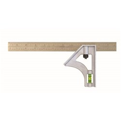 300MM PRO INCH/METRIC STRUCTO-CAST COMBINATION SQUARE