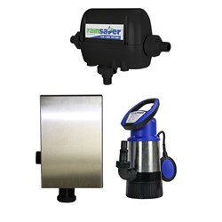 RS4E-JH8003S2MPCX RAINSAVERMK4E SUBMERSIBLE PUMPKIT CLEAN WATER DOMESTIC 80L/MIN 30M 800W 240V