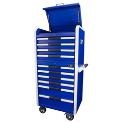 WHIXT82604606BL - TOOL CHEST +ROLLER CABINET COMBO BALL BEARING SLIDES