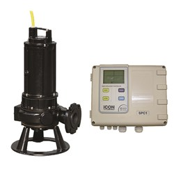 ZEN-DRN250/2/65MEX-P INDUSTRIAL SUBMERSIBLE PUMP & BIA-SPC1-22S CONTROL PANEL WITH TRANSDUCER