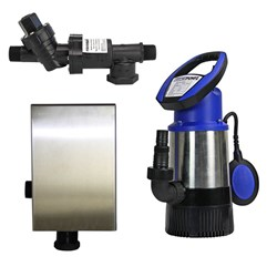 RS6-JH8003S2PC20 RAINSAVERMK6 PUMP KIT SUBMERSIBLE CLEAN WATER DOMESTIC 83L/M 30M 0.8KW240V