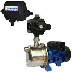 RS4E-INOX45S2MPCX RAINSAVER MK4E PUMP KIT CLEAN WATER DOMESTIC  50L/MIN  450W 240V