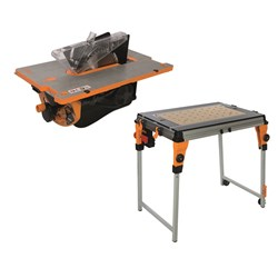 TABLE, TWX7 WORK CNTR INCLUDES CONTRACTOR SAW MODULE TRI-TWX7-CS001KIT