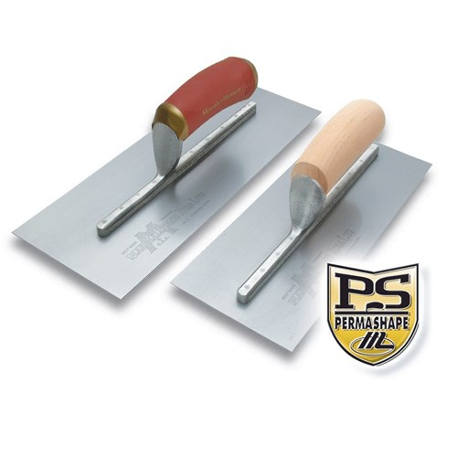 TROWEL,FNSHNG PERMAFLAT S/S 300 X 127MM DURASOFT HANDLE MT13SSFPD