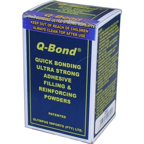 Q Bond Ultra Strong Super Glue Including Reinforcing Powder Filler