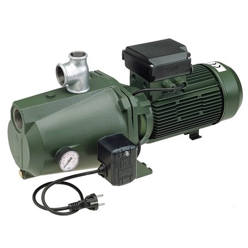 DAB-200MP - PUMP SURFACE MOUNTED CAST IRON WITH PRESSURE SWITCH 175L/MIN 41M 1.47KW 240V