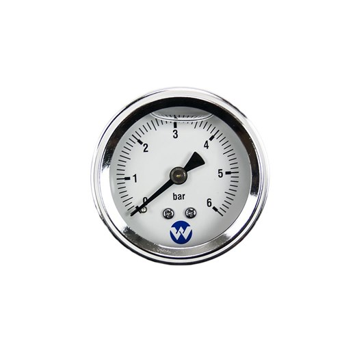 WHI-6BARPG - PUMP PRESSURE GAUGE 6 BAR LIQUID FILLED