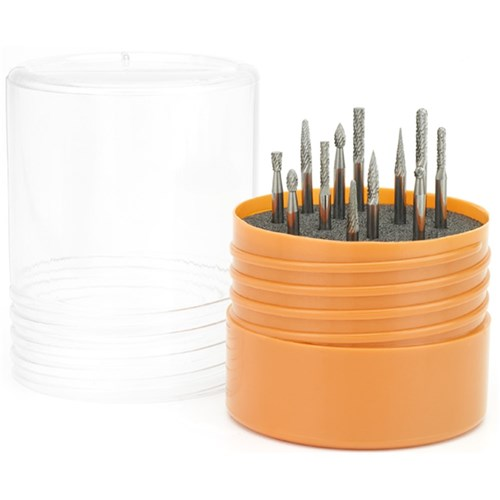 "BURR SET 12 PIECE SET WITH 1/8"" SHANK MENBTOOL13"