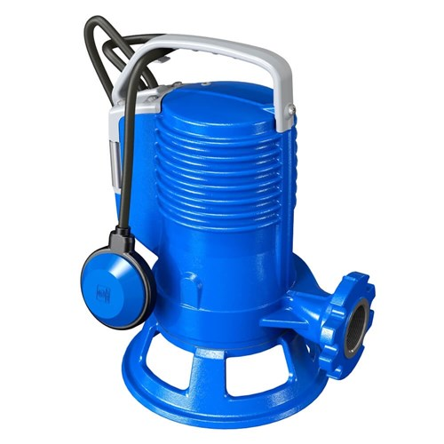 ZEN-GRBLUEP100/2/G40HMGEX - PUMP SUBMERSIBLE IECEX WASTEWATER SEWAGE DOMESTIC 240L/M 17M 0