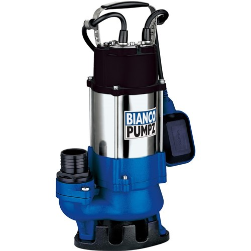 BIA-B45VAS2 - PUMP SUBMERSIBLEDIRTY WATER WITH FLOAT 200L/MIN 8.5M 450W 240V
