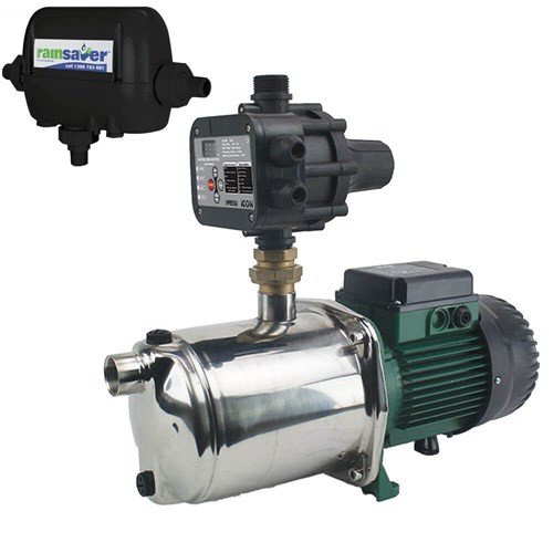 RS4E-EUROINOX40/80MPCI - PUMP CHANGEOVER RS4E SURFACE MOUNTED CLEAN WATER 120L/MIN 58M 1000W