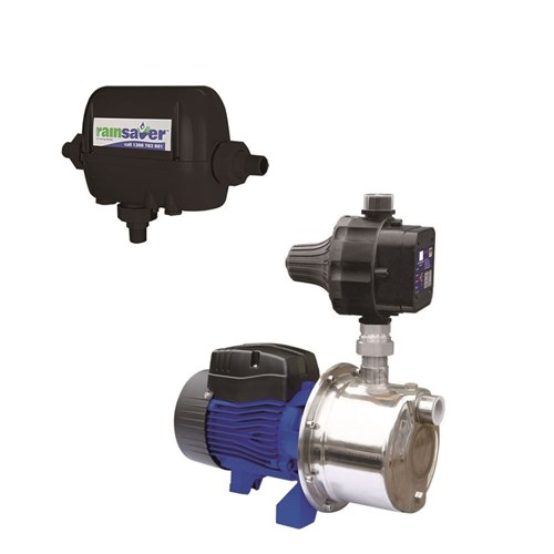 RS4E-INOX60S2MPCX RAINSAVERMK4E PUMP KIT CLEAN WATER DOMESTIC  57L/MIN 42M 600W 240V