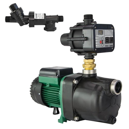 RS6-JETCOM82MPCI - PUMP CHANGEOVER RS6 SURFACE MOUNTED CLEAN WATER 60L/MIN 46M 600W 240V