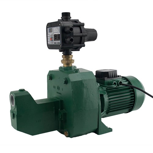 DAB-151MPCI PRESSURE SYSTEM WITH ADJUSTABLE AUTO RESTART CONTROLLER 75L/M 61M 1.1KW 240V