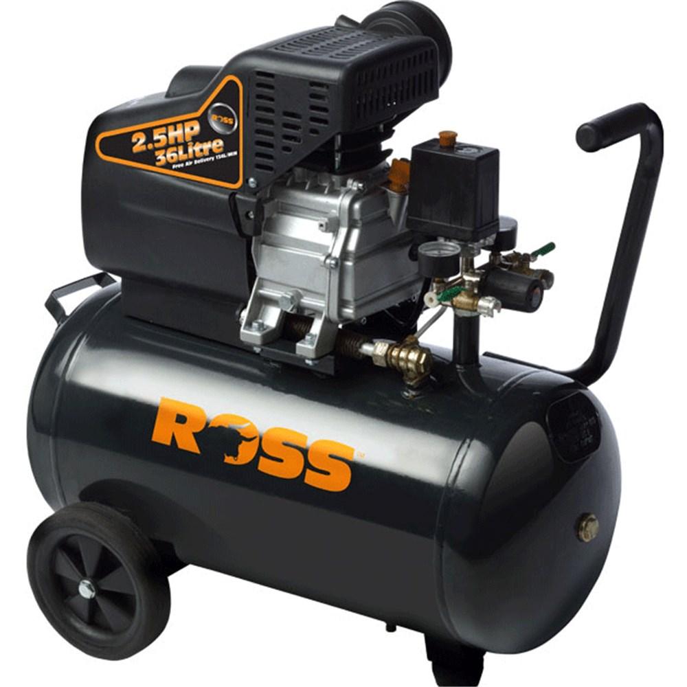 507069 Compressor 2 5hp 36ltr Direct Drive White