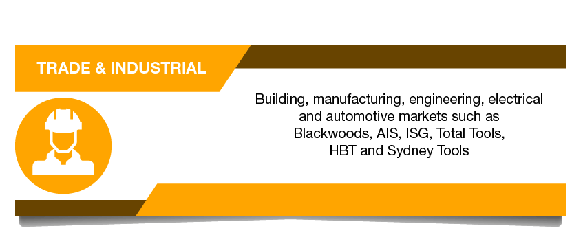 Trade and Industrial Stores - Building manufacturing automotive markets