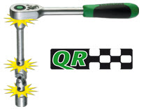 Stahlwille QuickRelease - the safety lock system for ratchets and adaptors